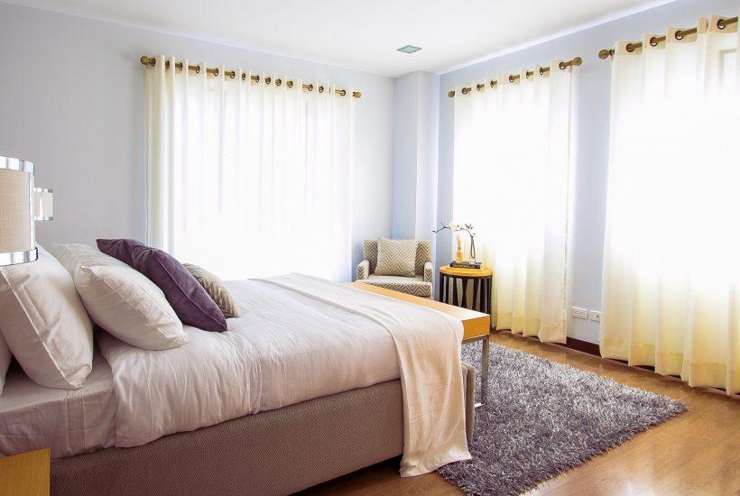 Wybór firan do pokoju sypialnego